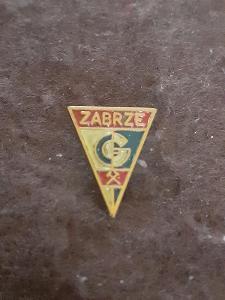 Odznak GORNIK ZABRZE - fotbalový klub Polsko