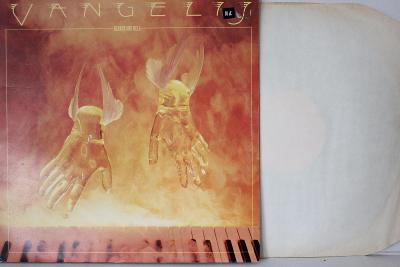 Vangelis – Heaven And Hell LP 1975 vinyl UK 1.press super stav EX