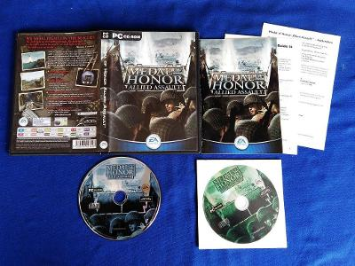 PC - MEDAL OF HONOR ALLIED ASSAULT (retro rok 2002) Top