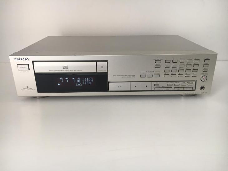 SONY CDP 591 - CD přehrávač - TV, audio, video
