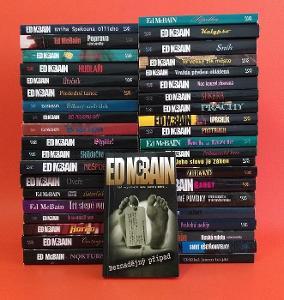 Ed McBain - 41 knih (detektivky)