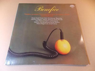 BENEFICE 1960 - 1980 Gott, Novák, Matuška... 2 LP 1980