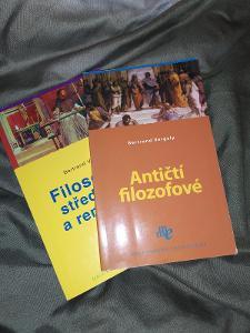 Mini knihy - Filosofové středověku a renesance a Antičtí filozofové