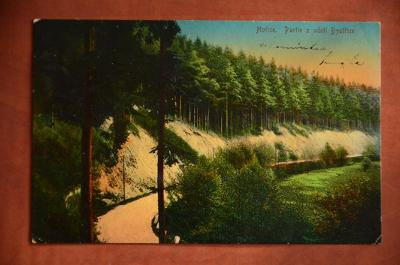 HOŘICE partie z údolí Bystřice Jičín - pohlednice MF Rakousko-Uhersko