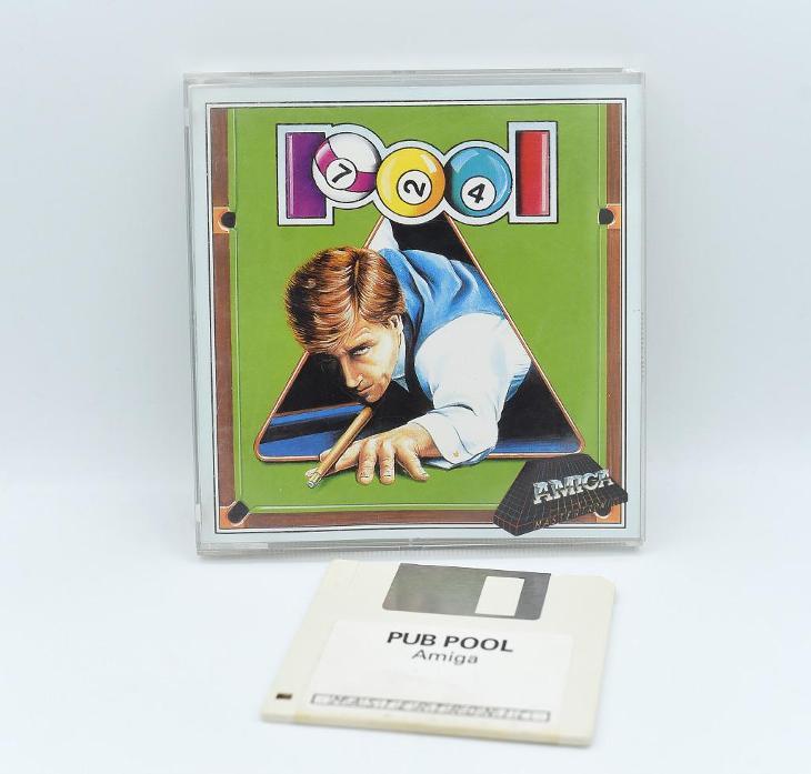 ***** Pool (Amiga) ***** - Historické počítače
