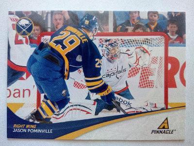 Jason Pominville, Buffalo Sabres, #85, Pinnacle 2011