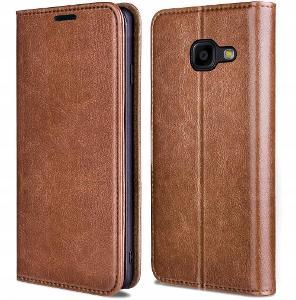 Samsung Galaxy A5 2017, obal magnetické kryt SKIN 100% kůže skora18