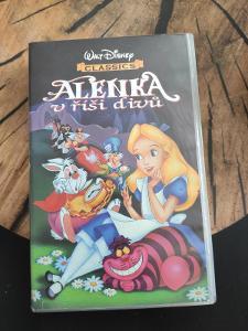 Alenka v říši divů, VHS