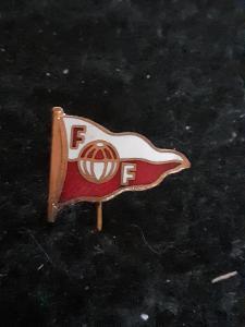 Odznak FF FREDRIKSTAD - fotbalový klub  Norsko