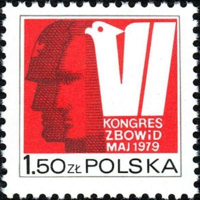 Polsko 1979 Známky Mi 2626 ** Druhá světová válka vojáci Veterán
