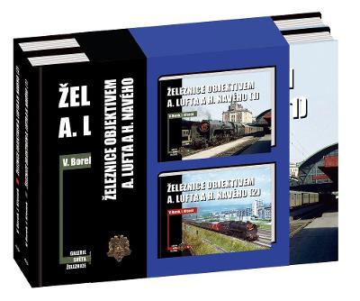 Železnice objektivem A. Lufta a H. Navého 1 a 2 - sada