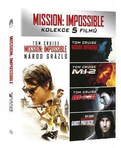 Mission: Impossible 1-5 kolekce (5 BD) - Blu-ray