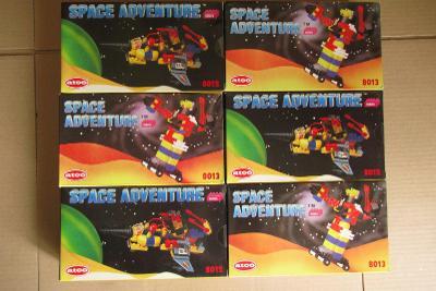 ATCO - Space adventure retro stavebnice - nerozbalená 6 kusů