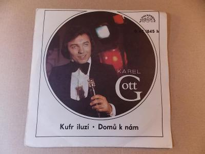 Gott Karel KUFR ILUZÍ, DOMŮ K NÁM 1975 SP