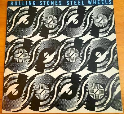 LP Rolling Stones- Steel Wheels 1990 Bonton. TOP Stav.
