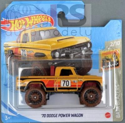 Hot Wheels Dodge Power Wagon - poštovné v popise!