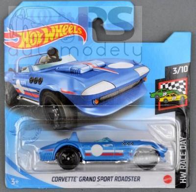 Hot Wheels Chevrolet Corvette Grand Sport Roadster- poštovné v popise!