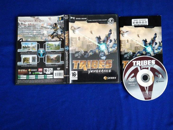 PC - TRIBES VENGEANCE (retro 2004) Top - Hry