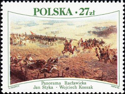 Polsko 1985 Známky Mi 2967 ** válka bitva kůň Kościuszkovo povstání