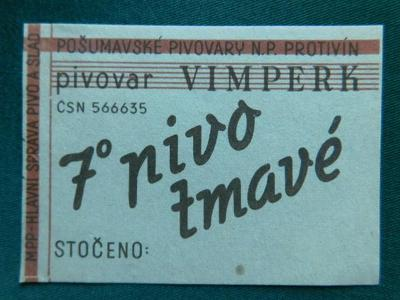 PE - Pivovar - Vimperk