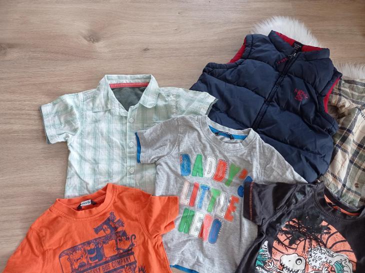 Krásný dětský set vel. 86-92 - Oblečení