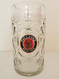 Tuplák Paulaner - pivní sklo