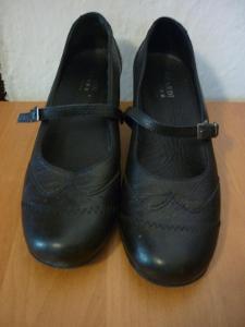 Pěkné kožené dámské boty - vel. 5,5 - zn. PICARDI