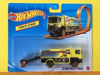 Scania Rally Truck - Hot Wheels - Track stars (E17-x)