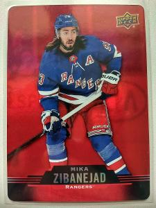 Mika Zibanejad #DC-48 New York Rangers 2020/21 Tim Hortons