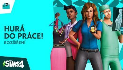 The Sims 4: Hurá do práce! - ORIGIN (dodání ihned) 🔑