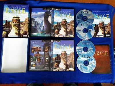 PC - MYST III. EXILE, BIG BOX malý (retro 2001)  Top