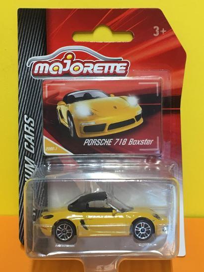 Porsche 718 Boxster - Majorette 1/58 (H11-x) - Modelářství