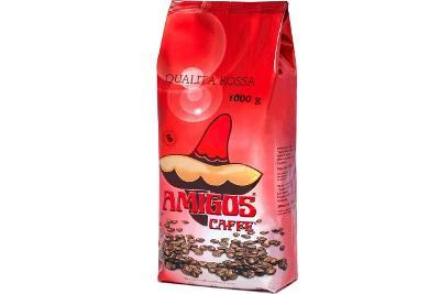italská zrnková káva Amigos Qualita Rossa  1kg