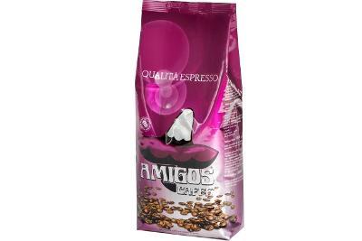 italská zrnková káva Amigos Qualita Espresso 1kg