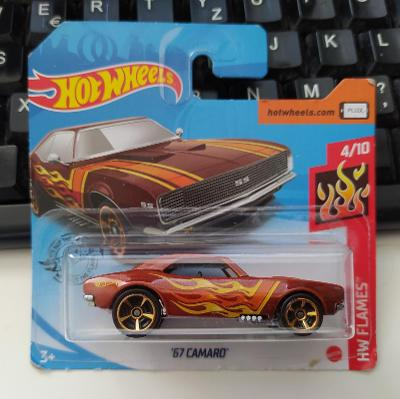 Chevrolet Camaro '67 - Hot Wheels