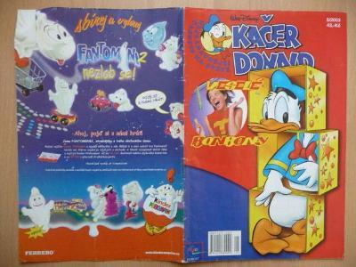 Časopis - Kačer Donald - číslo 5. z roku 2003