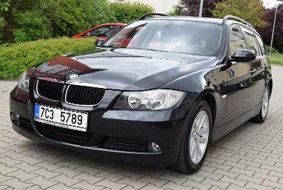 BMW E91 318i, Rok 2008, 6st. Manuál, Tempomat, Park. senzory