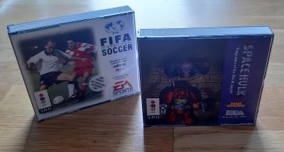 2x hra na konzoli 3DO - FIFA International Soccer + Space Hulk