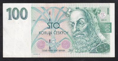 VZÁCNÁ 100 KORUN 1993 - SUPER STAV