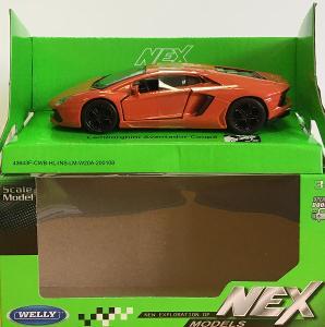 Lamborghini Avendator kupé - Welly 11,5cm měřítko 1/34 až 1/39 (M19-9)