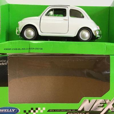 Nuova Fiat 500 - Welly 11,5cm měřítko 1/34 až 1/39 (M19-10)