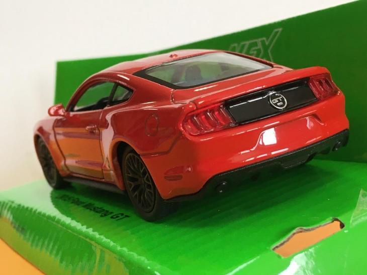 2015 Ford Mustang GT - Welly 11,5cm měřítko 1/34 až 1/39 (H12-1) - Hračky