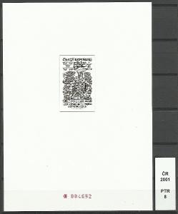 ČR 2001, PTR 8, číslo 004682