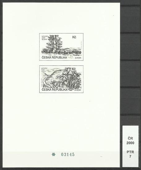ČR 2000, PTR 7, číslo 03145 - Filatelie