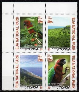 Tonga-Peja červenolesklý 2017**  Mi. 24 €