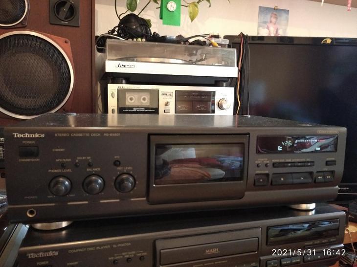 TECHNICS RS-BX601 ČÍST POPIS - TV, audio, video
