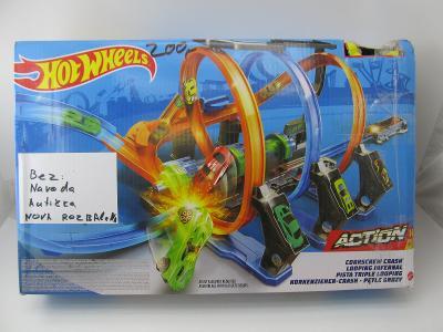 Hot Wheels Spirálová jízda, Mattel FTB6 ZÁVODNÍ DRÁHA # 2