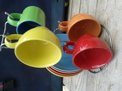 Starý porcelán -šálky / 851