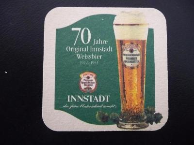 pivní tácek  Innstadt