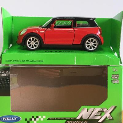 New Mini Hatch - Welly 11,5cm měřítko 1/34 až 1/39 (H12-3)